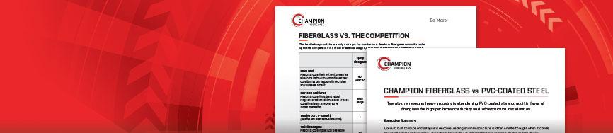 Why Champion Fiberglass?